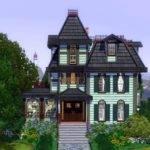 Viridian Victorian Jisgr Sims Pinterest