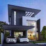 Visualization User Community Two Story House Plans Modern Black Beam
