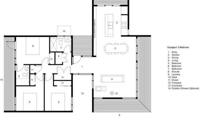 Voyageur Bedroom Cabin Plan Form Pinterest