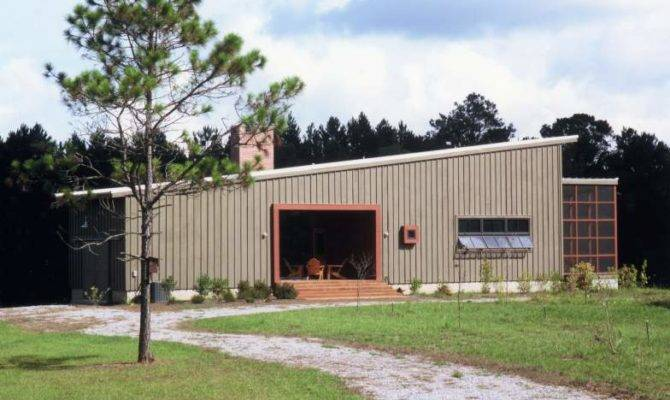 Waggonner Ball Architects Dog Trot House