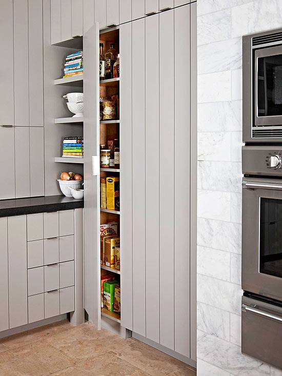 Walk Pantry Cabinet Ideas