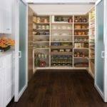 Walk Pantry Traditional Kitchen New York Transform