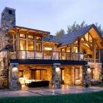 Walkout Basement House Plans Rustic Exterior