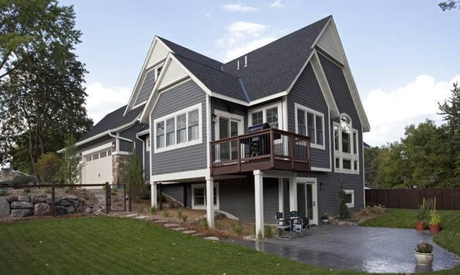 Walkout Basement Ideas Cottage Style Rambler House Plans