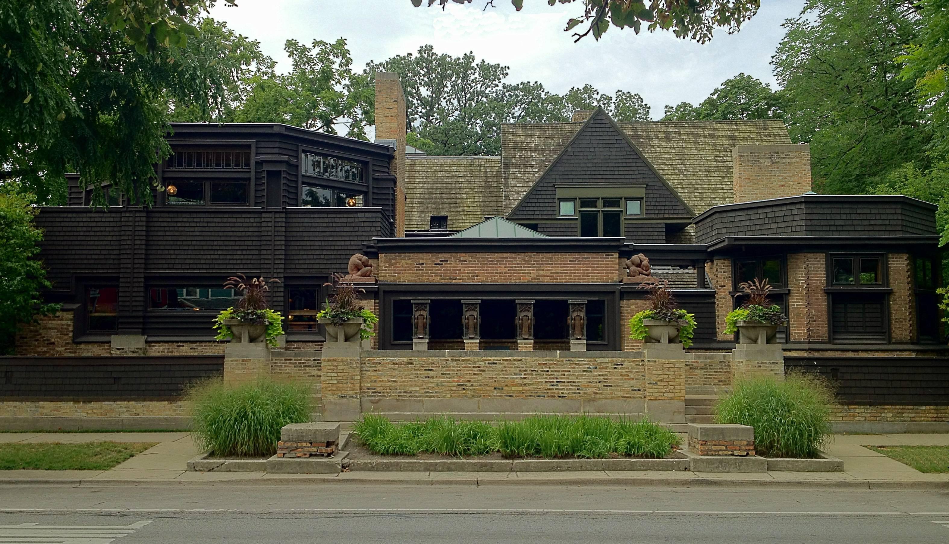 Ward Willits Olgivanna Home Franklloydwright Frank Lloyd Wright
