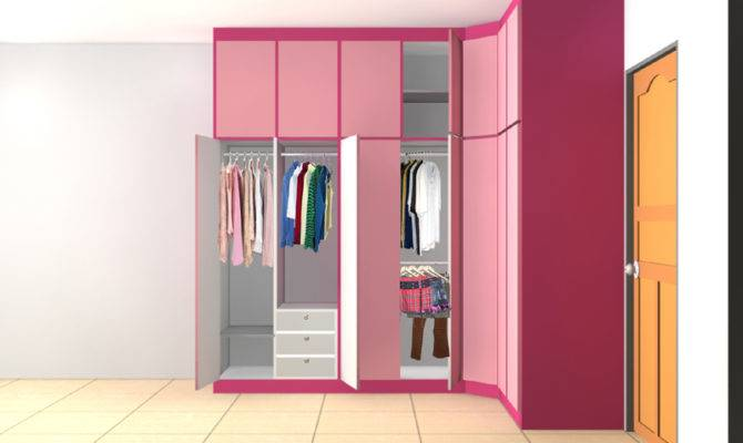 Wardrobe Interior Design Ideas Walkin Closet