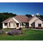 Warfield Traditional Ranch Home Plan House