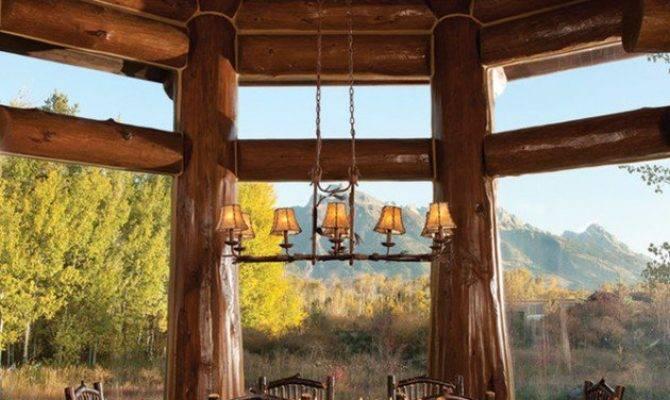 Warm Cozy Rustic Dining Room Designs Your Cabin