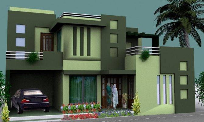 Warm House Design Indian Style Plan Elevation