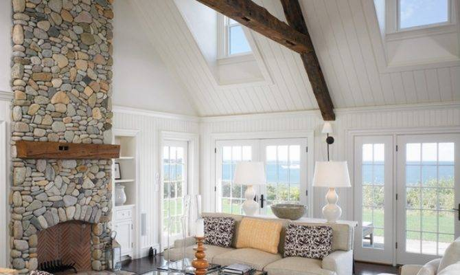 Warm Your Home Awesome Stone Fireplace