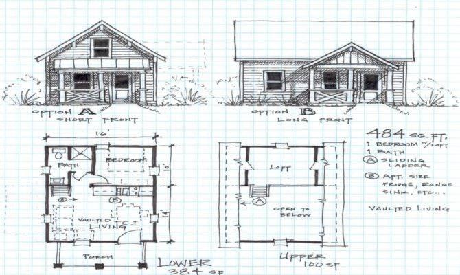 Warmth Modern Cottage House Plans Plan