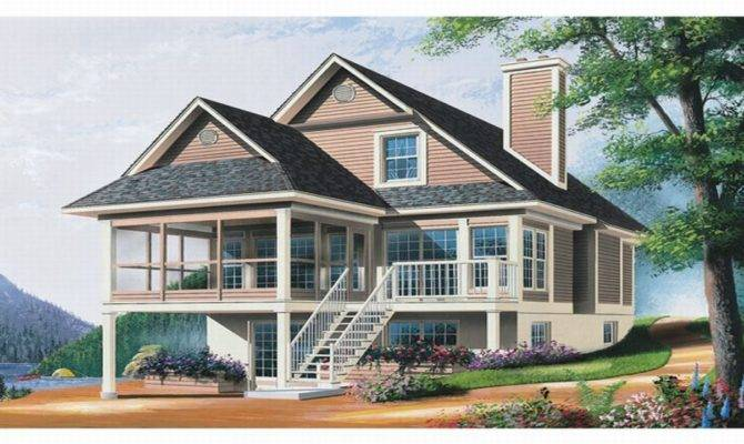 Waterfront Homes House Plans Lowcountry