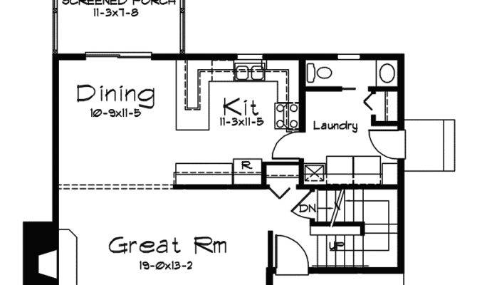 Waterview Vacation Home Plan House Plans More