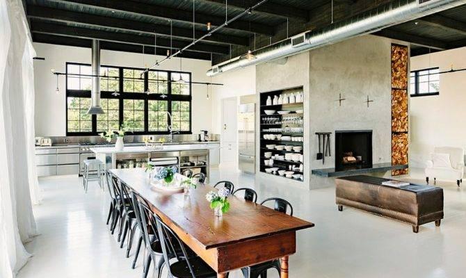Ways Create Trendy Industrial Dining Room