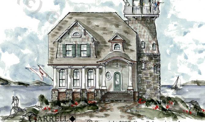 Weathermoore Lighthouse Plan House Plans Garrell