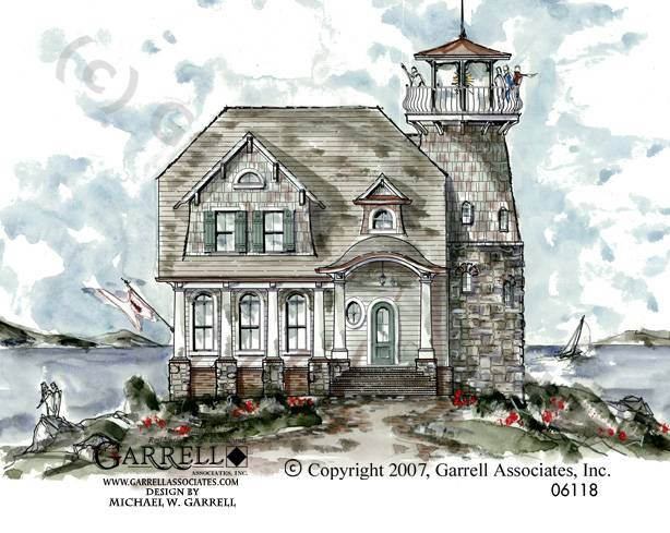 Weathermoore Lighthouse Plan House Plans Garrell