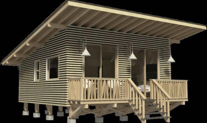 Weekend Cabin Plans