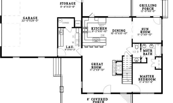 Weekend Retreat Craftsman Home Plan House