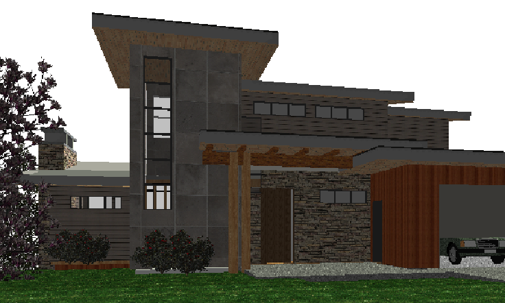 West Coast Contemporary Home Design Mountain