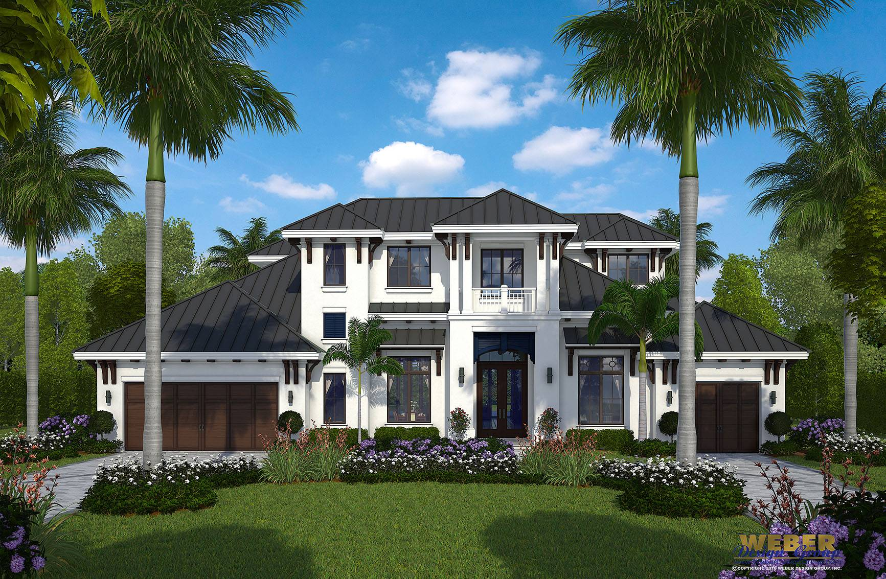 West Indies Home Design Barts House Plan Weber Group