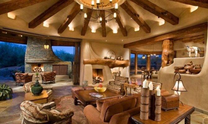 Western Homestead Ranch Living Room