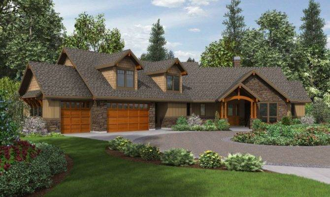 Western Ranch Style House Plans New Adobe Home