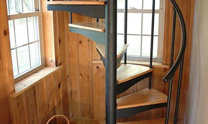 Which Tiny House Stair Right Salter Spiral