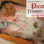While They Snooze Make Pirate Treasure Map Inspired