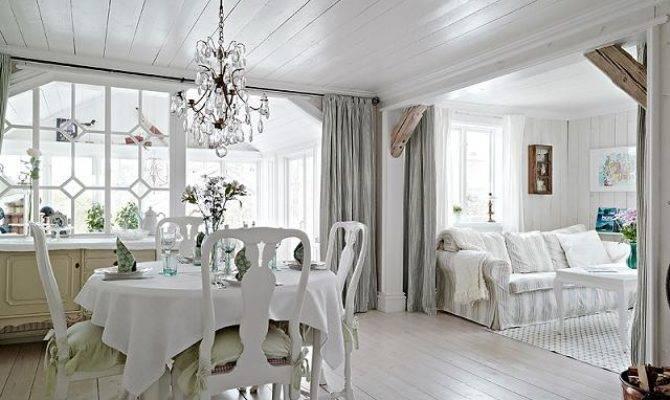 White Cozy Country Home Sweden Interior Design Files