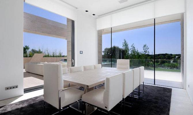 White Dining Room Plans One Total Amazing Dream House