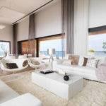 White Dream House Living Room One Total Modern