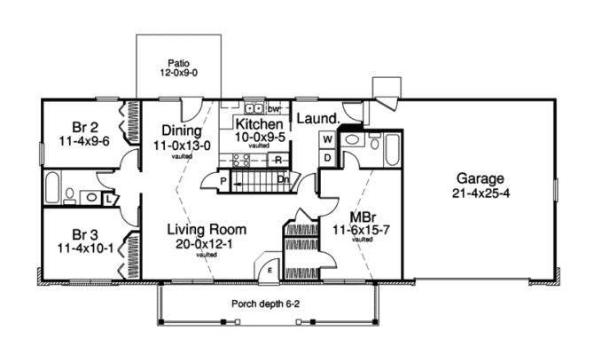 White House Basement Floor Plan Ranch First Plans