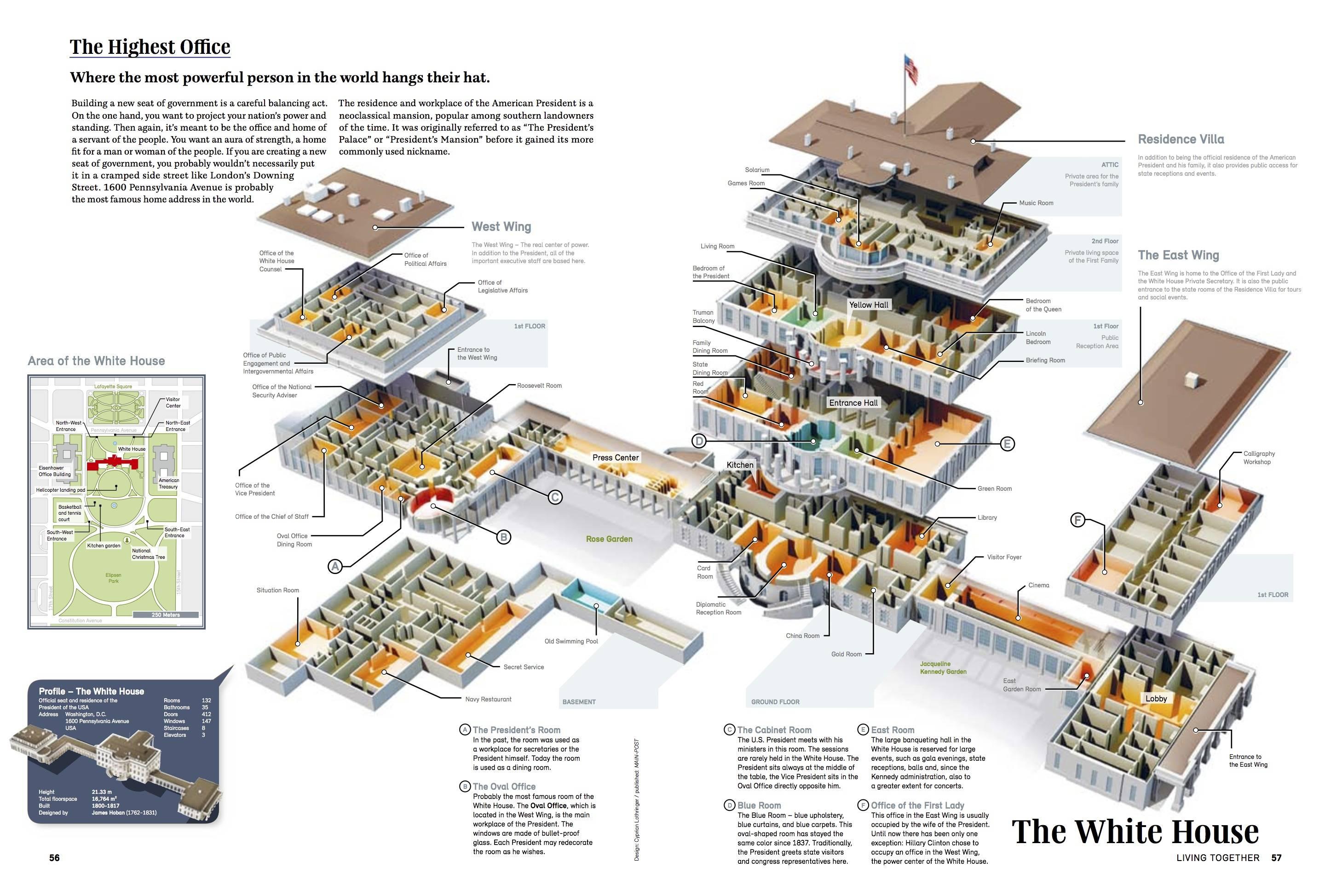 White House Floor Plans East Wing