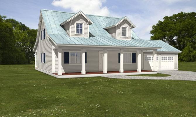 White House Plans Large Front Back Porches