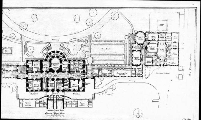 White House Residence Third Floor Plan