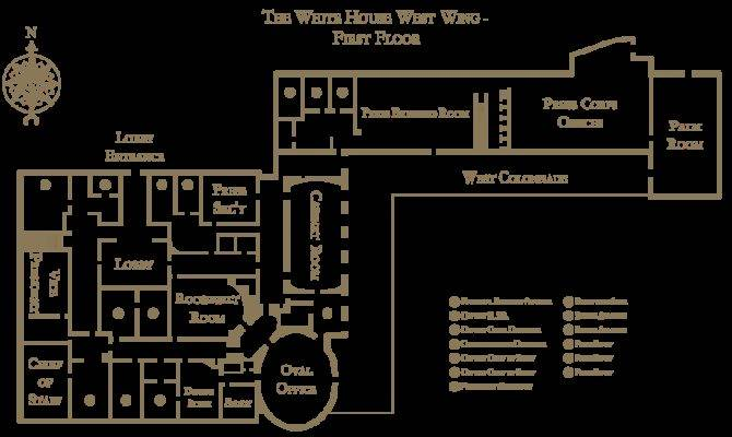 White House West Wing Floorplan Svg Wikipedia