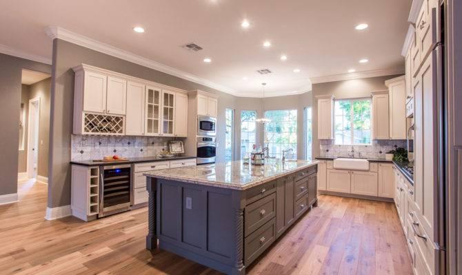 White Shaker Cabinets Kitchen Bath