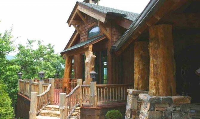 Whiteside Rustic Home Design Moose Mountain Lake