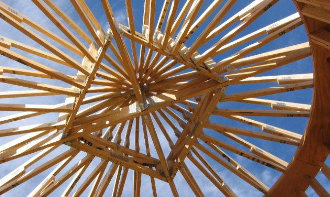 Why Love Trussed Roofs Fine Homebuilding Breaktime