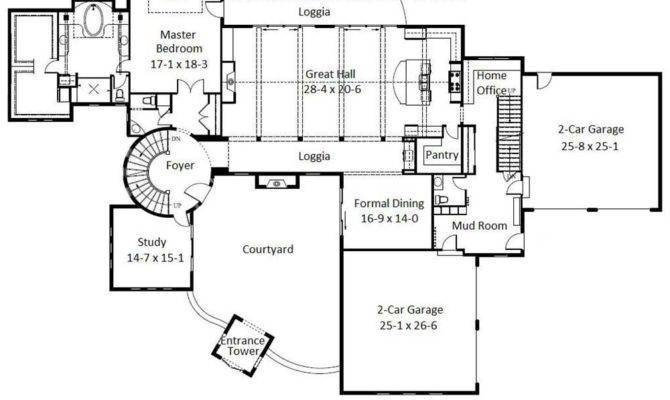 Wide Tuscan House Plans Luxury Bedroom Layout