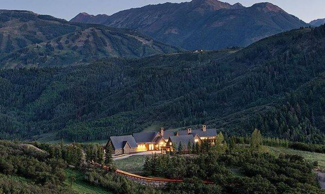 Wildcat Ranch Snowmass Village Colorado Most Beautiful Houses