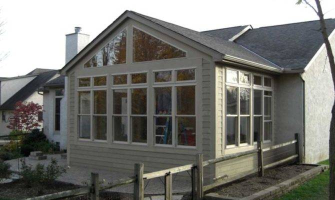 Window Porch Porches Solarium Sun Season