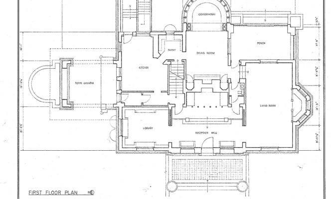Winslow House Floor Plan Wikimedia Commons