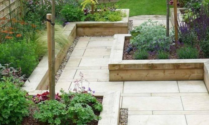Wonderful Landscape Simple Garden Ideas Natural Stone
