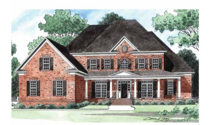 Wonderful Wrap Around Porch Hwbdo Farmhouse Home Plans