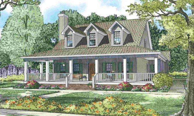 Wonderful Wrap Around Porch Maverick Custom Homes