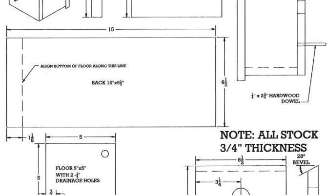 Wood Bird House Plans Pdf Deck Chair