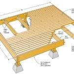 Wood Deck Designs Pinterest Small Low