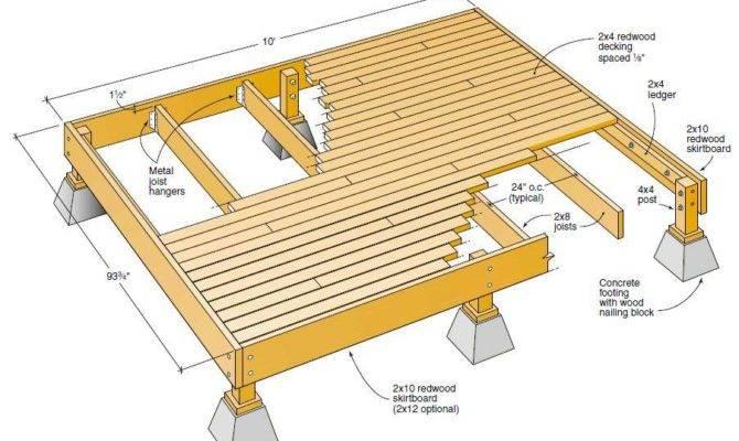 Wood Deck Plans Pdf Lathe Projects Video