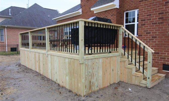 Wood Decks Decking Designs